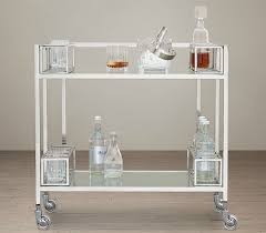 10 Handsome Bar Carts So You Can Drink In Style Huffpost Pertaining To Contemporary  Bar Cart Decorating ...