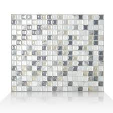 Peel And Stick Kitchen Tile Smart Tiles Mosaik Minimo Noche 1155 X 964 Peel Stick Wall