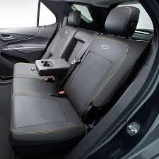 2018 equinox rear seat cover black w