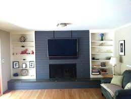painting red brick fireplaces grey painted brick fireplace painting red brick fireplace ideas