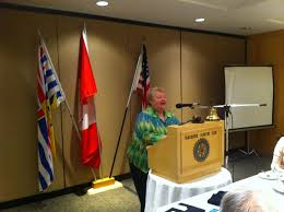 Dianna Smith. Classification talk | Rotary Club of Vancouver Arbutus