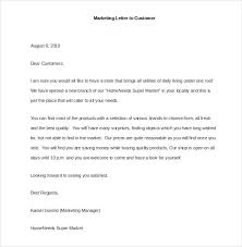 Sample Letter To Clients Marketing Letter Template 38 Free Word Excel Pdf Documents