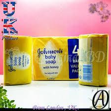 Johnson's Baby Soap With Honey (100g X... - All Original BD