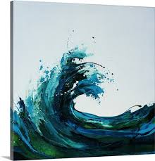 canvas on seafoam green canvas wall art with seafoam wave wall art canvas prints framed prints wall peels