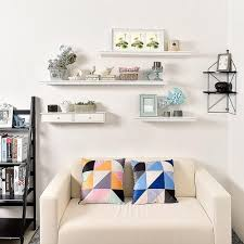 Wall Shelving For Living Room Wall Mounted Shelves Decorative Shelving Wall Decor Decor