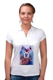 <b>Рубашка Поло Cute</b> dog #2507484 за 1 130 руб. в Москве - <b>Printio</b>