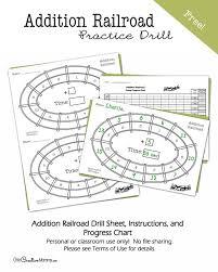 Math Facts Progress Chart Multiplication Speedway Math Drill Onecreativemommy Com