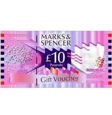 m s gift voucher 10 value