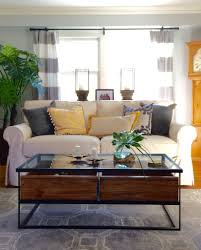 rustic modern living room furniture. A Fresh, Fun And Family Friendly Living Room Makeover With Raymour Flanigan MemeHill Rustic Modern Furniture