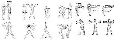 Глава Физическая подготовка боксера Департамент физической  Рис 52 Упражнения с отягощениями