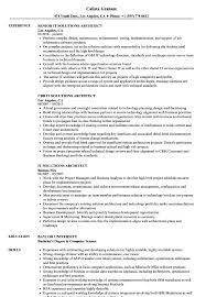 Solutions Architect Resume IT Solutions Architect Resume Samples Velvet Jobs 5