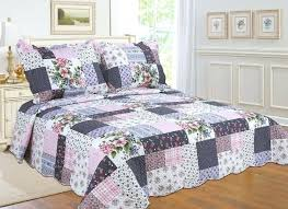 3 piece reversible bed spread coverlet quilt set difference between and august grove