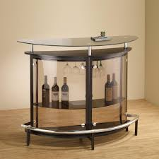 small bar furniture. Contemporary Glass Small Bar Unit DC Furniture R