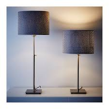 Gray Table Lamps Enchanting ALÄNG Table Lamp Nickel Platedgray IKEA Oak Park Apt