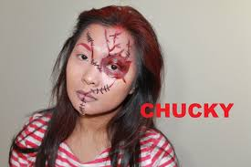 chucky makeup tutorial for hallooween