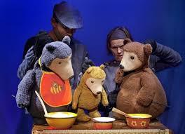 Dream Catcher Theatre Puppet Theatre Hevosenkenkä Three bears and goldilocks 戲偶 96