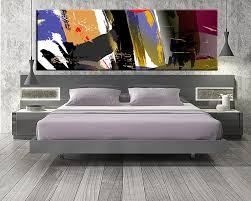 1 piece colorful large pictures abstract photo canvas  on huge modern wall art canvas with large bedroom canvas kemist orbitalshow