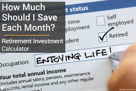 retirement goal planning system retirement investment calculator