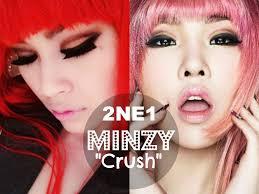 공민지 2ne1 minzy crush inspired makeup tutorial you
