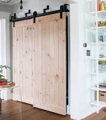 interior barn doors. Simple Light Wood Barn Doors Can Be Used In Place Of Closet An Entry Interior T