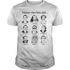 Nicolas Cage Emotion Chart Nicolas Cage Mood Board Today Im Feeling T Shirt