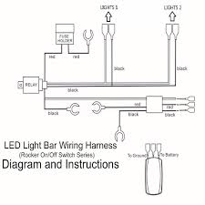 40a 300w relay fuse wiring harness led light bar on off laser how to wire led light bar to high beam at Led Light Bar Wiring Diagram Without Relay