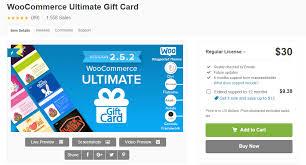 premium woomerce gift certificates plugins