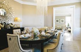 the formal dining room in the home owned by ms mahmood and her husband