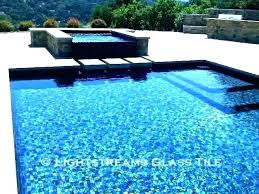 glass tile for swimming pools pool tiles ideas waterline mosaic if in