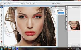 how to apply makeup in photo