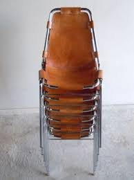 a set of six charlotte perriand le corbusier les arcs chairs ebay 500 5000 svpply leatherchair