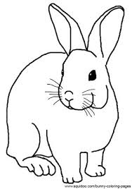 Cartoon Rabbit Coloring Pages At Getdrawings Com Free For Personal