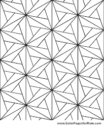 Free Printable Geometric Coloring Pages Crukhsfinfo