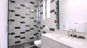 Schwarze Und Graue Fliesen Badezimmer Youtube