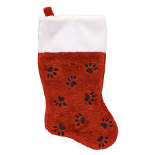Holiday Living 16-in Red Pet Christmas Stocking