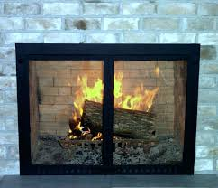 wood stove door glass medium size of gas fireplace glass doors open or closed custom fireplace