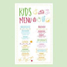 Cafe Menu Template Restaurant Cafe Menu Template Design Stock Vector © Marchi 24 16