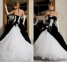 gothic white corset wedding dresses naf dresses
