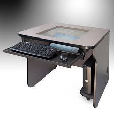 mira vista smartdesks classroom computer desks for multi use pc computer labs glass top