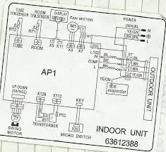 refrigeration and air conditioning repair wiring diagram of outdoor diagram split type aircon
