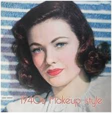1940s hair and makeup tutorial good 17 best images about 1940 s makeup and hairstyles on