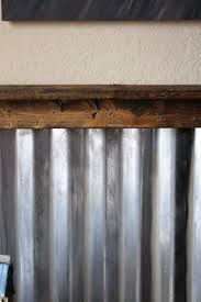 iron wall decor u love: boys hot rod bedroom corrugated metal wall treatment how to age a new metal
