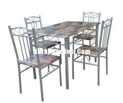 furniture metal. Kursi Makan Set Metal Furniture
