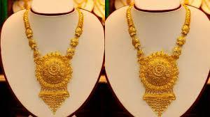 Long Rani Haar Designs In Gold Bridal Long Gold Ranihaar Designs Huge Collection