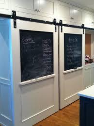 white sliding barn doors. White Double Barn Doors Sliding N