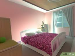 And the mix of solid color versus vibrant pattern creates a lively, energizing vibe perfect for sparking creativity and play. 3 Ways To Make Your Bedroom Look Girly Wikihow