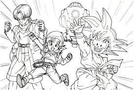 Disegni Di Dragon Ball Da Stampare E Colorare Foto Pourfemme