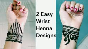 Henna Wrist Designs 2 Easy Bracelet Henna Design Latest Wrist Mehendi Design