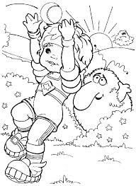 Small Picture 38 best Rainbow Brite Coloring Pages images on Pinterest Adult