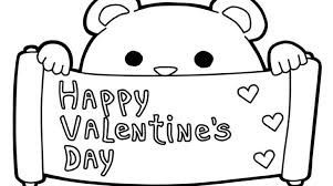 Small Picture Happy Valentines Day Coloring Pages Ideas Gekimoe 33972